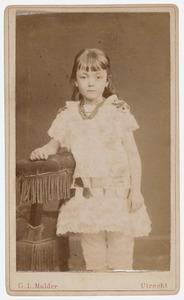 Portret van Johanna Francoise Henriette Barchman Wuytiers van Vliet (1876- )