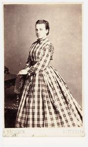 Portret van Henriette Maria Gerardina Milders (1821-1904)