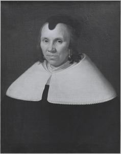 Portret van een vrouw, 1658 of 1659