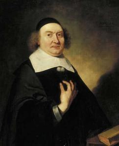 Portret van een 56-jarige predikant