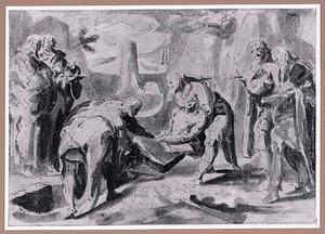 De begrafenis van de H. Johannes de Doper
