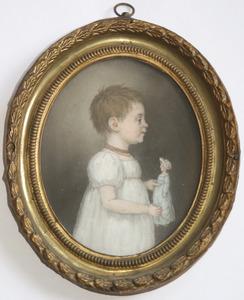 Portret van Catharina Christina van Delden (1816-....)