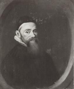 Portret van Meinardus Schotanus (1593-1644)