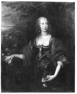 Portret van Frances Stuart, Countess of Portland (1617-1694)