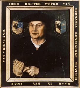 Portret van Upko van Burmania (....-1557)