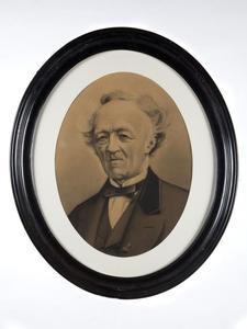 Portret van Willem Herman Cost Jordens (1799-1875)