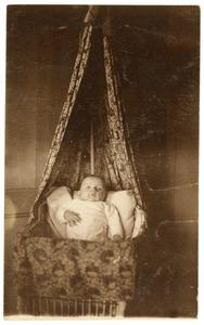 Portret van een onbekende baby