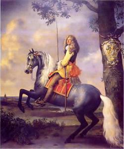Ruiterportret van Dirk (Diederik) Tulp (1624-1682)