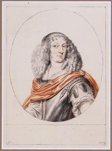 Portret van koningin Christina van Zweden als Minerva