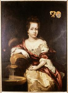 Portret van Johanna van den Brande (1668-1691)