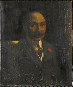 Portret van Andries van Wezel (1856-1921)