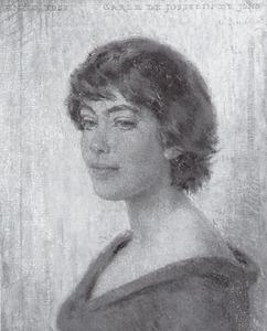 Portret van Carolina Johanna de Josselin de Jong (1931- )