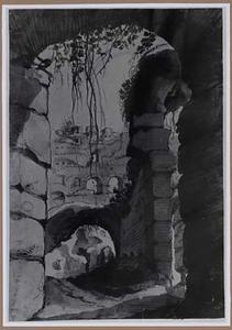 Klassieke ruïne (Colosseum?)