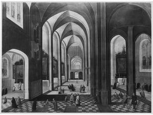 Gotisch Kerkinterieur (Lille?)