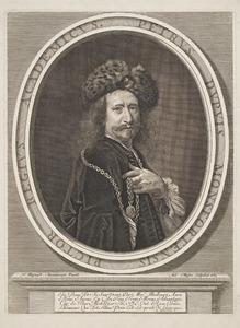 Portret van de schilder Pierre Dupuis (1610-1682)