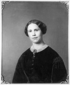 Portret van Henriette Josephine Caroline van Sonsbeeck (1829-1895), echtgenote van Josephus Diert van Melissant