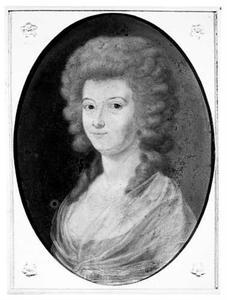 Portret van Stephania Gravin van Randwijck (1767-1823)