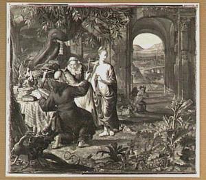 De verzoeking van de H. Antonius (?)