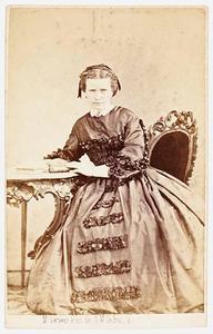 Portret van Susanna Maria Elisabeth Johanna Francisca de Man (1822-1907)