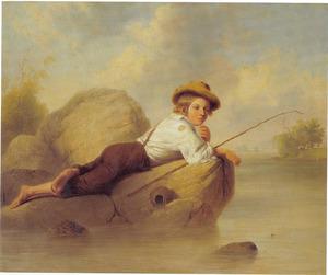 De luie visser