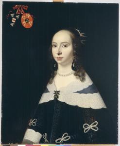 Portret van Machteld Doublet (1631-1653)