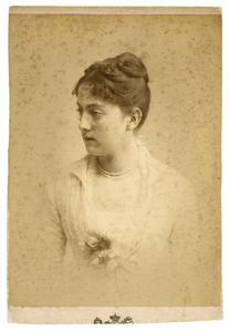 Portret van Sophie Geertruida Francoise Gevers (1860-1942)