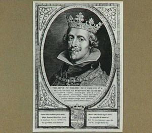 Portret van Philip IV, koning van Spanje