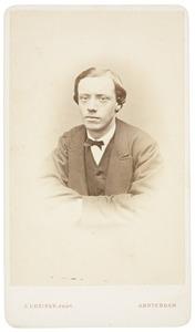 Portret van een man uit familie De Vries