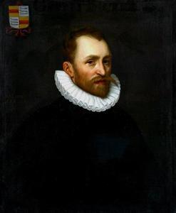 Portret van Gerrit Pietersz. Bicker (1554-1604)