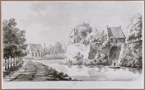 Het bastion Manenburg in Utrecht