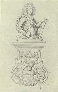 Ontwerp voor portetbuste koning Christiaan V