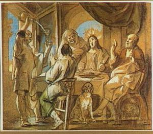 Christus en de Emmaüsgangers (Lucas 24:13-35)