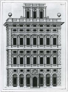 Palazzo Centurione: Plan van de gevel