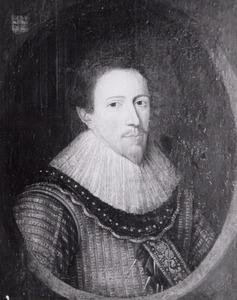 Portret van Arnold Huyn van Amstenraedt (....-....) of Jan Willem Huyn van Amstenraedt (....-....)
