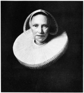 Portret van een vrouw genaamd Anna van Walenburch (....-1655)