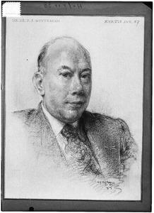 Portret van Petrus Johannes Witteman (1892-1972)