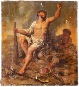 Hercules op de brandstapel