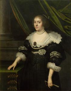 Portret van Amalia van Solms (1602-1675)