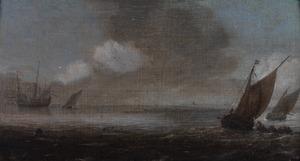 Zeilboten op kalme zee