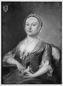 Portret van Carolina Jacoba de Lille (1722-1795)