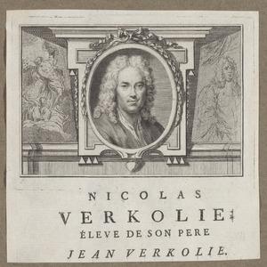 Portret van Nicolaas Verkolje (1673-1746)