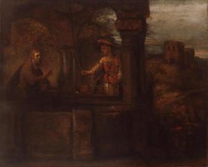 Christus en de Samaritaanse vrouw (Johannes 4:7-26)