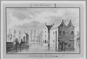 Voor- en rechterzijde van Zuilichem bij Brakel