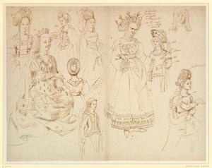 Studie van Margaretha van Gistel en negen vrouwen
