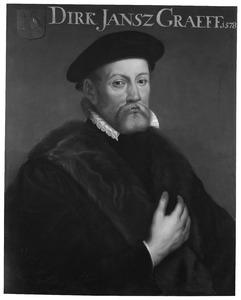 Portret van Dirk Jansz. de Graeff (1529-1589)