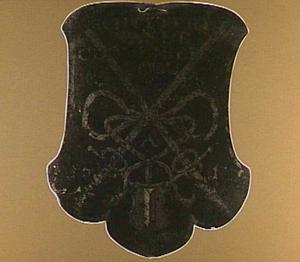 Begrafenisschild van de Schutterij der Kloveniers