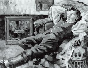 Portret van Leonidas Cornelis Johannes Mineur (1892-1976)