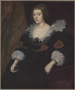 Portret van Amalia van Solms-Braunfels, prinses van Oranje (1602-1675)