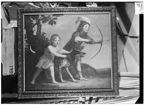 Dubbelportret van Hieronymus van Tuyll van Serooskerken (1635-1677) en Frederik Adolf van Tuyll van Serooskerken (....-....)