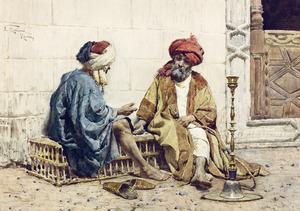 Spelende Arabieren